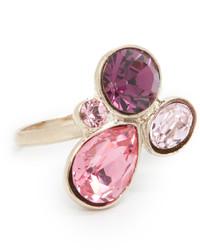 Oscar de la Renta Floating Crystal Ring