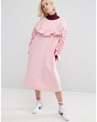 Style Nanda Stylenanda Frill Detail Smock Dress