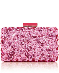 Pink Sequin Clutch