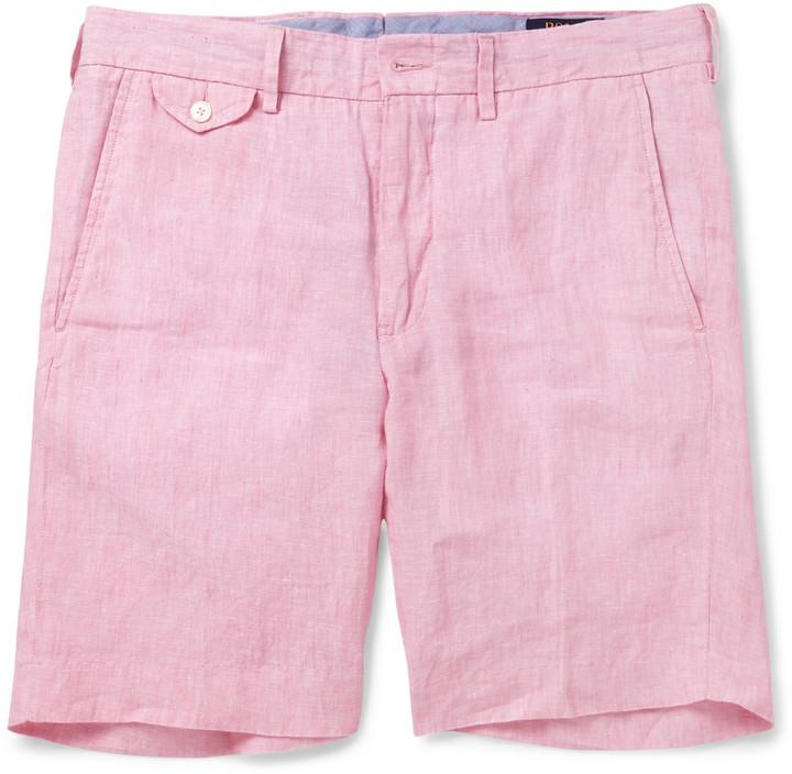 58e60691105 ... germany polo ralph lauren linen shorts c4919 2d6bf