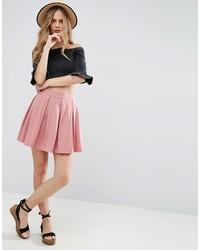 Mini skater skirt with box pleats medium 3757966