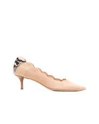 Chloé Scalloped Pumps