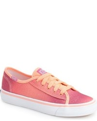Girls Keds Double Up Glitter Sneaker