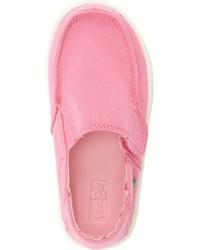 Sanuk Girls Sideskip Slip On Sneaker
