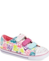 Skechers Twinkle Toes Chit Chat Glamour Light Up Sneaker