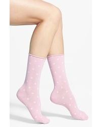 Hue Jeans Socks Pink Sugar 911