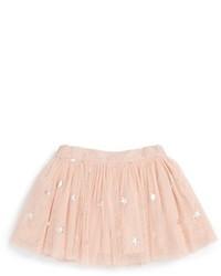 Stella McCartney Girls Kids Honey Star Print Tulle Skirt