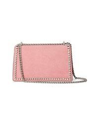 04ce7969b3e ... Gucci Pink Dionysus Crystal Suede Shoulder Bag