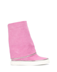Casadei Med Wedge Boots