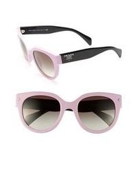 Prada 54mm Cat Eye Sunglasses Pink One Size