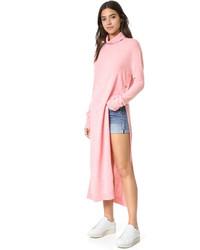 Sjyp Maxi Turtleneck Knit Dress