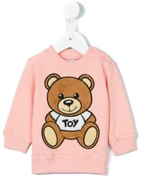 Moschino Kids Teddy Bear Appliqu Sweatshirt
