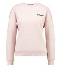 Topshop Babygirl Sweatshirt Darkpink