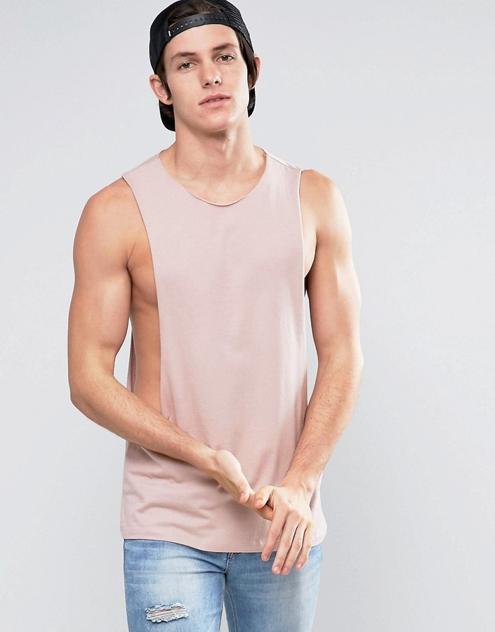 sleeveless t shirt asos
