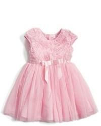 Popatu Short Sleeve Tulle Dress