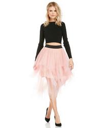 Pink Tulle Full Skirt