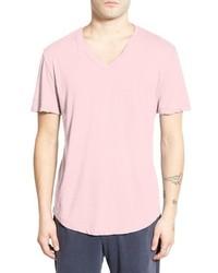 Clear jersey mlange v neck t shirt medium 595617