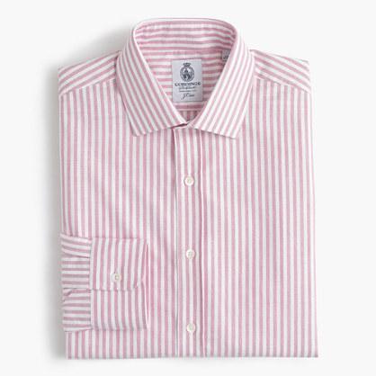 J.Crew Cordingstm For Shirt In Pink Stripe