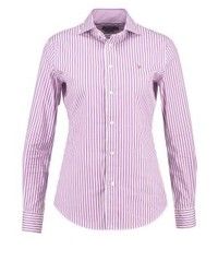 Ralph Lauren Kendal Shirt Purplewhite