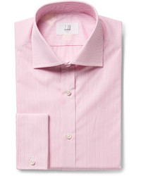 Dunhill Pink Striped Cotton Shirt