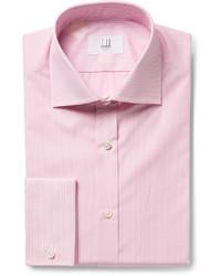 Dunhill Pink Striped Cotton Shirt