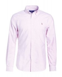 Ralph Lauren Slim Fit Shirt Winter Redwhite