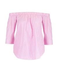 Ichi Blouse Scahet Pink