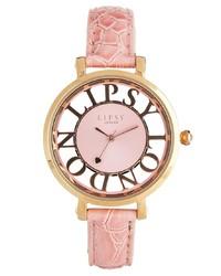 Lipsy Surround Pink Watch