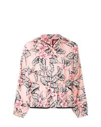 Moncler Floral Printed Bomber Jacket