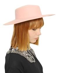 Pink Wool Hat