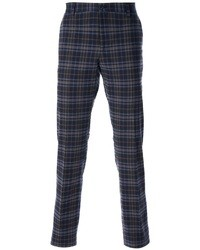 Plaid Chinos