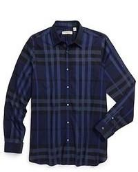 Plaid long sleeve shirt original 364128