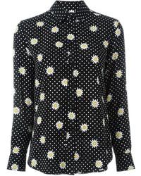 Polka dot long sleeve blouse original 10025949