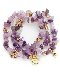Sequin Stone Stretch Bracelets