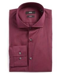 Purple Check Dress Shirt