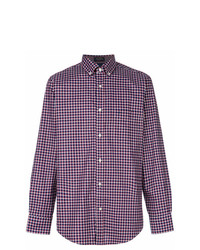 Paul & Shark Checkered Print Shirt