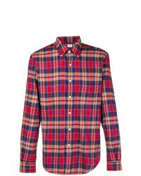 Aspesi Classic Checked Shirt