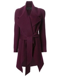 Donna Karan Belted Coat