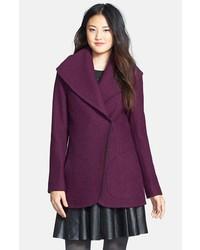 Halogen Boiled Wool Shawl Collar Coat
