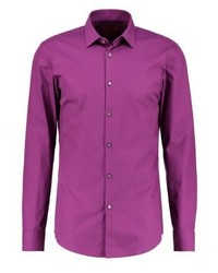 Hugo Boss Jenno Slim Fit Formal Shirt Purple
