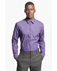 Paul Smith London Slim Fit Gingham Dress Shirt