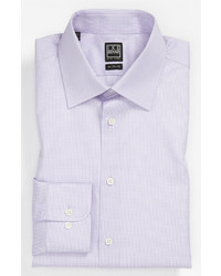 Ike Behar Regular Fit Tonal Texture Dress Shirt