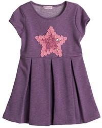 Design 365 Lace Star Skater Dress Toddler