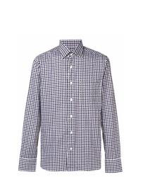 Canali Gingham Check Shirt