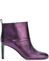 Golden Goose Deluxe Brand Metallic Ankle Boots