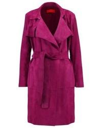 Hugo Boss Lysie Short Coat Medium Purple
