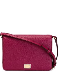 9526b65bd4 Women s Purple Leather Crossbody Bags by Dolce   Gabbana