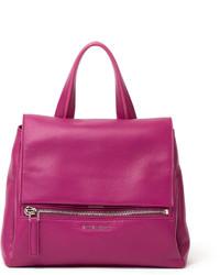 Pandora pure flap top satchel bag purple medium 156980