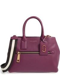 Gotham leather tote burgundy medium 834509