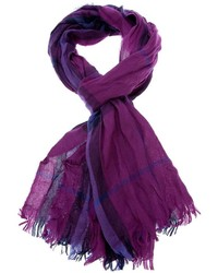 House check scarf medium 151824